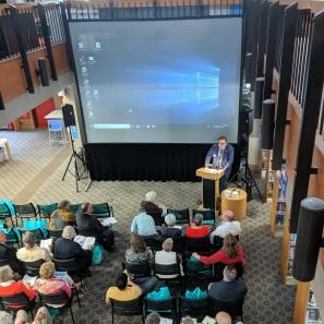 Brennan_Chair Trustees welcome_SFL Annual meeting installation views_Gloucester MA_20190520©c ryan