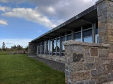 Donald J Monell architecture cafeteria addition still standing_Eastern Point Retreat_Gloucester Massachusetts_20190521_© c ryan (11)