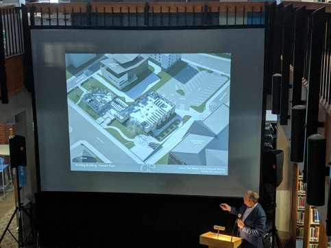 EXISTING BUILDINGS_architect presentation_SFL Annual meeting installation views_Gloucester MA_20190520 ©c ryan