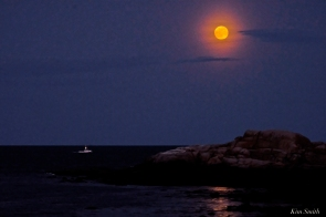Full Flower Moon May Gloucester Massachusetts -12 copyright Kim Smith