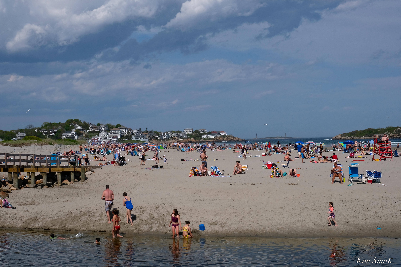 Good Harbor Beach Sign