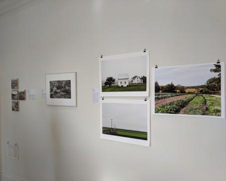 intallation view back wall_A MURRAY_STEVE ROSENTHAL_PAUL CARY_ GOLDBERG_jacob hessler_Jane Deering Gallery Glou MA_landscape group show Part 2_20190518_© c ryan