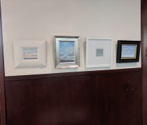 LEIGH SLINGLUFF solo show at BankGloucester _Colors of Sky and Sea new plein air small works_through July 5th 2019_20190524_© c ryan (10)