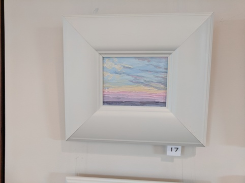 LEIGH SLINGLUFF solo show at BankGloucester _Colors of Sky and Sea new plein air small works_through July 5th 2019_20190524_© c ryan (13)