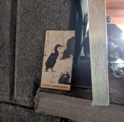 """"""" Lila Monell print cormorants image used in tribute for Dorothy Adams Brown"""""""