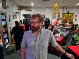 Literary Cape Ann event_ at Cape Ann Community Cinema_portrait of cinema founder Rob Newton_20190505_© catherine ryan