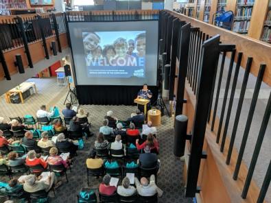 Mayor welcome_SFL Annual meeting installation views_architect presentation_Gloucester MA_20190520©c ryan