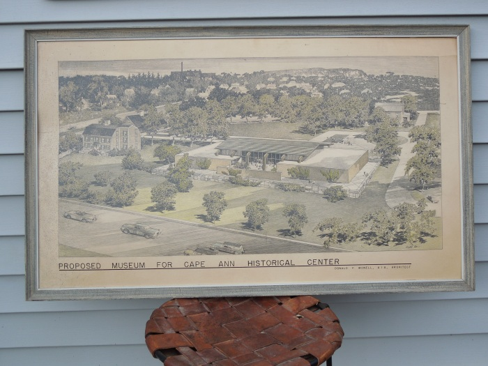 Monell Cape Ann Historical Museum proposal predates eventual Pleasant Street addition Gloucester MA long before 2019 Grant Circle work