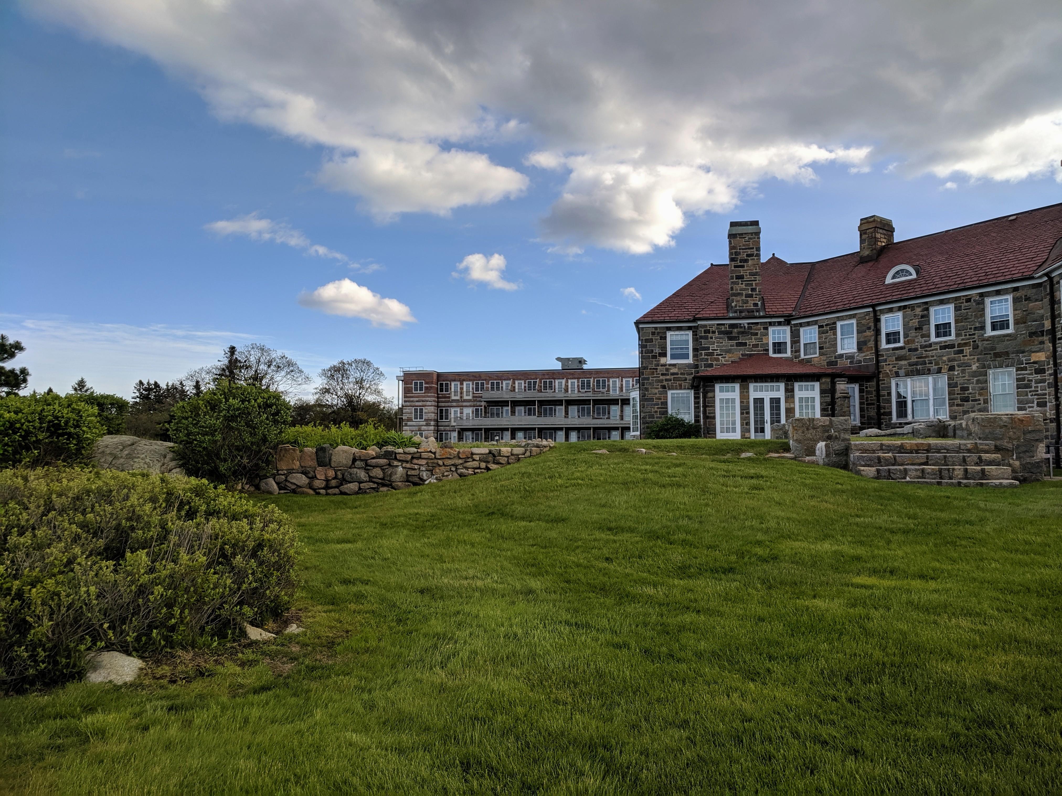 new dormitory construction circa 2017 altered Donald J Monell addition_Eastern Point Retreat_Gloucester Massachusetts_20190521_© c ryan.jpg