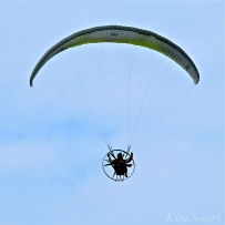 Paramotor Good Harbor Beach Gloucester copyright Kim Smith - 01