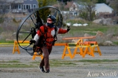 Paramotor Good Harbor Beach Gloucester copyright Kim Smith - 04