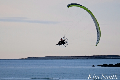 Paramotor Good Harbor Beach Gloucester copyright Kim Smith - 07
