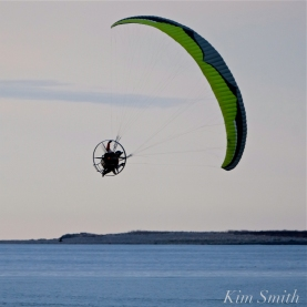 Paramotor Good Harbor Beach Gloucester copyright Kim Smith - 08