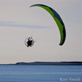 Paramotor Good Harbor Beach Gloucester copyright Kim Smith - 08