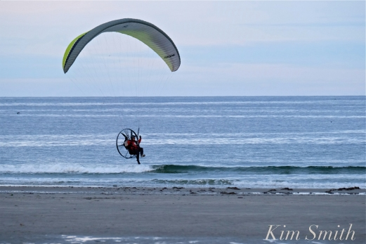 Paramotor Good Harbor Beach Gloucester copyright Kim Smith - 09