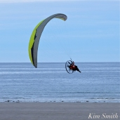 Paramotor Good Harbor Beach Gloucester copyright Kim Smith - 10