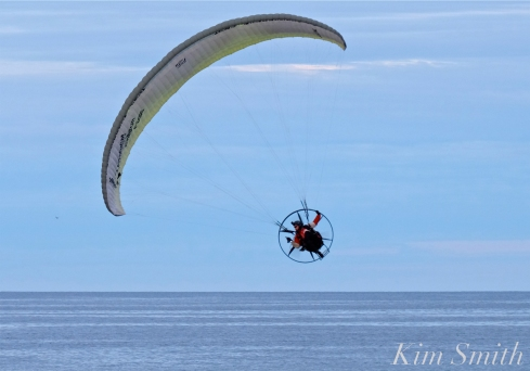 Paramotor Good Harbor Beach Gloucester copyright Kim Smith - 11