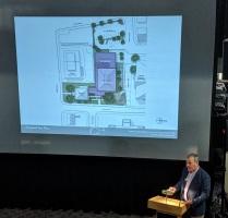 PROPOSED SITE PLAN_architect presentation_SFL Annual meeting installation views_Gloucester MA_20190520 ©c ryan