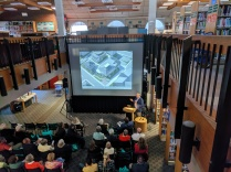 ROOF_architect presentation_SFL Annual meeting installation views_Gloucester MA_20190520 ©c ryan