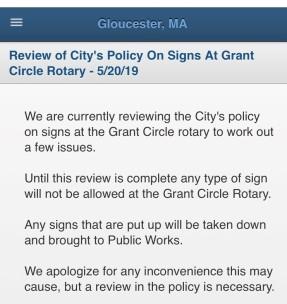 signs at rotary notice may 20