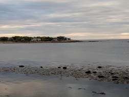 tower in distance all that remains of a Don F Monell Gloucester MA residence commissioned by Marietta Lynch of Beverly_ _20190523_© c ryan
