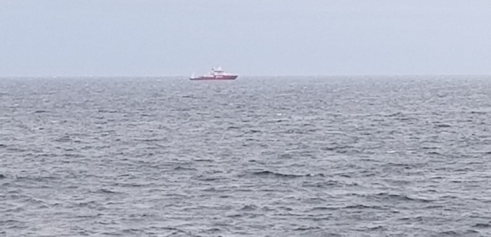 view of Fugro Ship off Gloucester MA coast_20190510