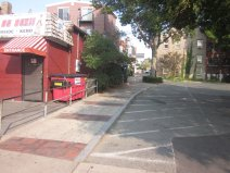 View of pedestrian pass through from Rogers to Main_past 20 Rogers Street_Gloucester MA_September 2012 ©c ryan