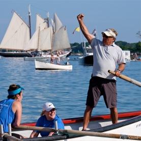 BACKLASH St Peter's Fiesta Women Seine Boat Champions 2019 copyright Kim Smith - 5
