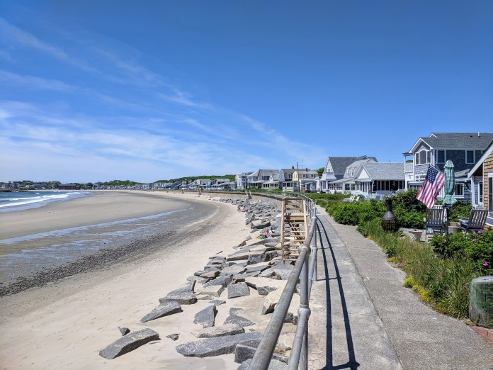 BEFORE Long Beach seawall walkway widening_Rockport Ma Gloucester MA_2019 June 7 ©c ryan