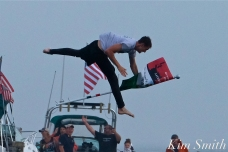 Derrick Hopkins Greasy Pole Friday and Saturday Champion 2019 copyright Kim Smith - 16