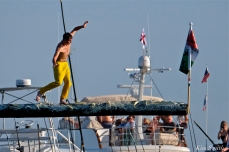 Derrick Hopkins Greasy Pole Friday Champion 2019 copyright Kim Smith - 02