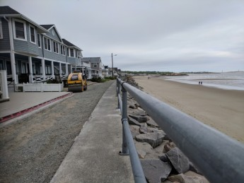former hotel Long Beach cottages 2018 walkway widened © c ryan