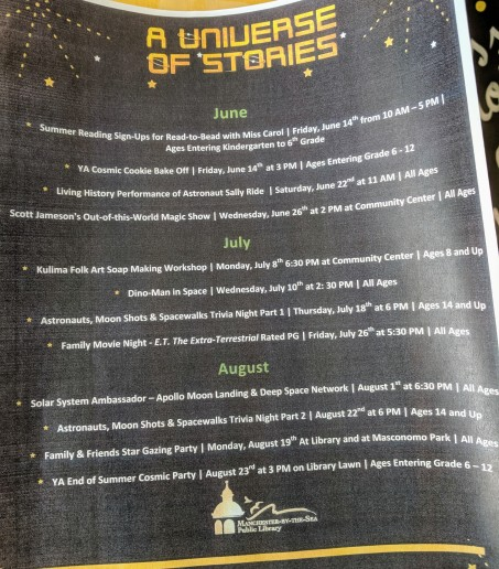 Library universe of stories upcoming events throughout town_20190615_Manchester by the Sea © c ryan (4)