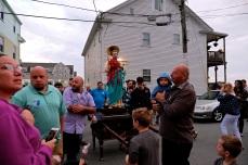 Saint Peter's Fiesta Novena Closing Night Procession to Beach Court 2019 copyright Kim Smith - 54