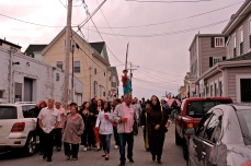 Saint Peter's Fiesta Novena Closing Night Procession to Beach Court 2019 copyright Kim Smith - 58