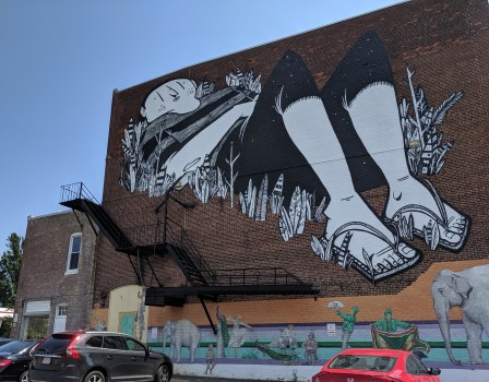 artist muralist Alex Senna of Sao Paulo Brazil_Beverly Mass_new murals commissioned for Cabot building_20190719 ©c ryan (3)