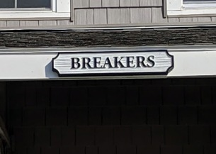 BREAKERS_ front row cottage names _Long Beach Gloucester Rockport Massachusetts_summer 2019 © c ryan