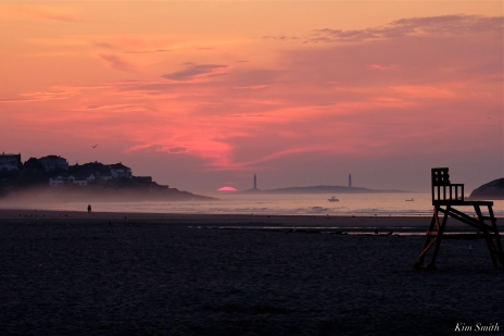 Good Harbor Beach North Light Thacher Island Sunrise copyrigt Kim Smith - 1