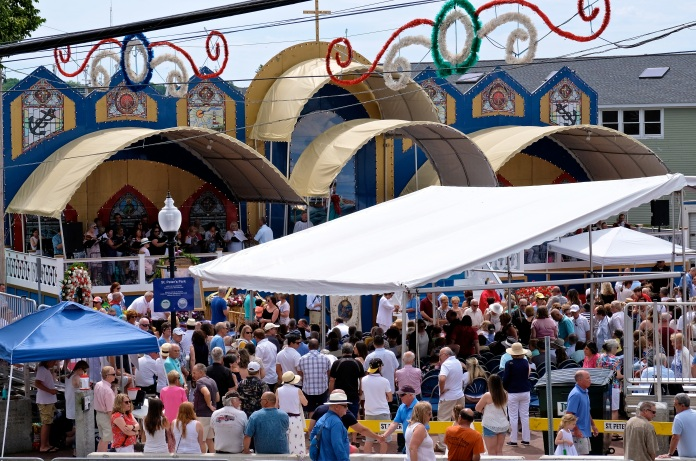 Saint Peter's Fiesta Sunday Mass 2019 copyright Kim Smith - 23
