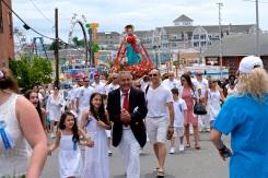 Saint Peter's Fiesta Sunday Procession 2019 copyright Kim Smith - 05
