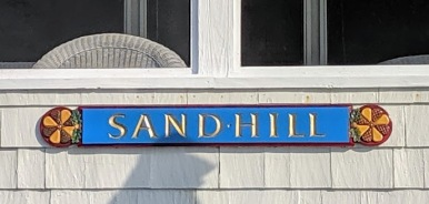 SANDHILL front row cottage names _Long Beach Gloucester Rockport Massachusetts_summer 2019 © c ryan