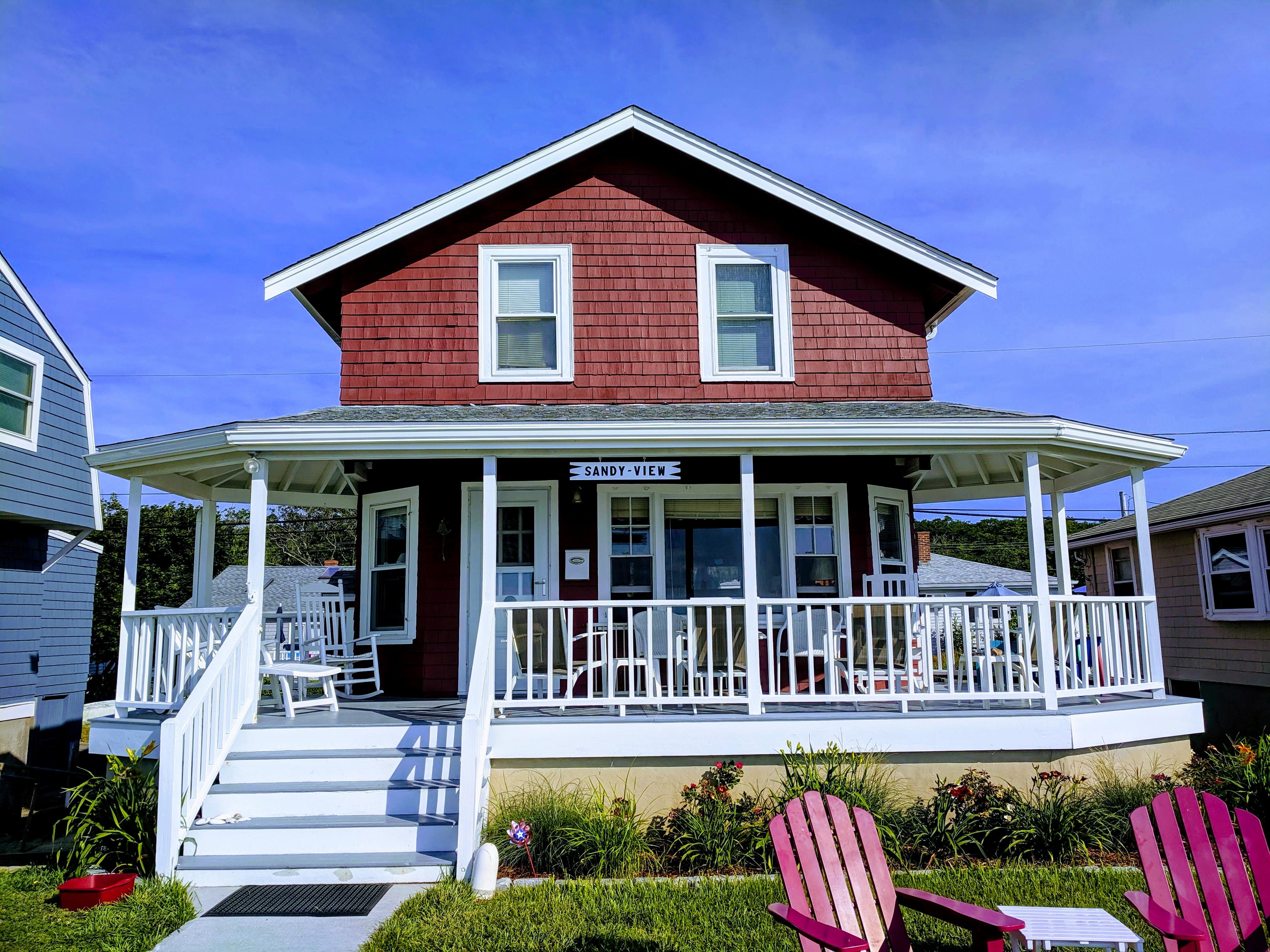 SANDY VIEW front row cottage names _Long Beach Gloucester Rockport Massachusetts_summer 2019 © c ryan