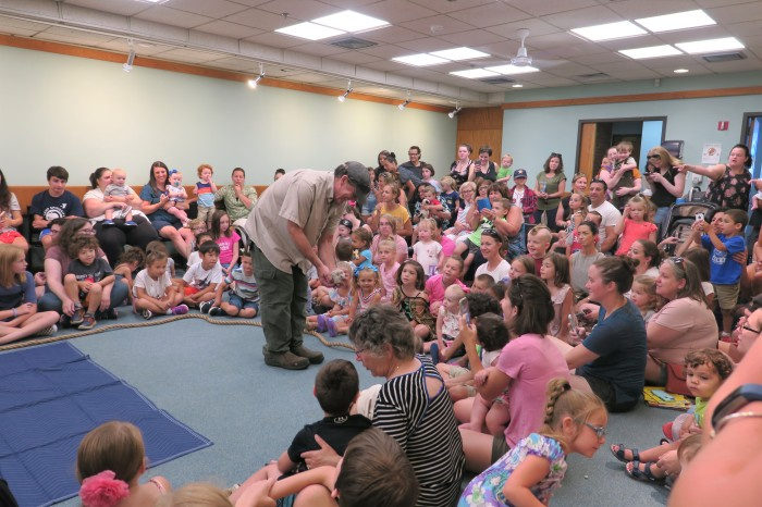 Scenes from Curious Creatures summer program Childrens Services Sawyer Free Public Library July 27 2019 ©Linda Bosselman (2)