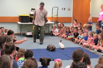 Scenes from Curious Creatures summer program Childrens Services Sawyer Free Public Library July 27 2019 ©Linda Bosselman (4)