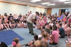 Scenes from Curious Creatures summer program Childrens Services Sawyer Free Public Library July 27 2019 ©Linda Bosselman (5)
