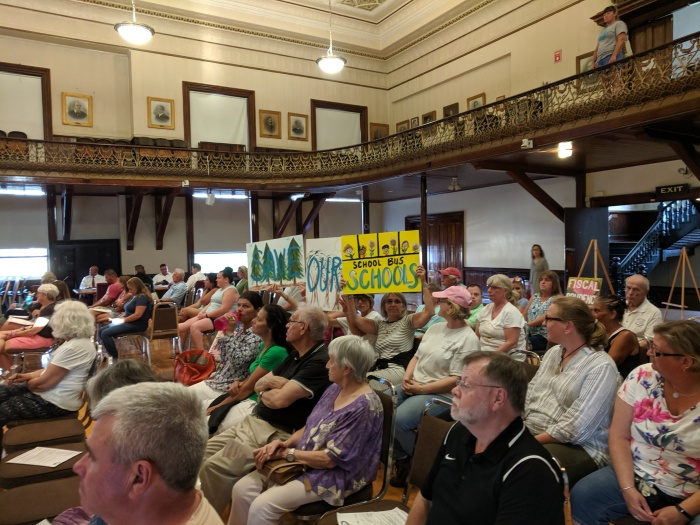School Committee Dore & Whittier presentation to full City Council July 9 2019 City Hall Kyrouz Auditorium Gloucester MA ©c ryan (6)