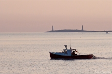 Stanley Thomas Lobster Boat Thacher Island Twin Lights copyright Kim Smith - 3