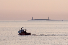 Stanley Thomas Lobster Boat Thacher Island Twin Lights copyright Kim Smith - 4