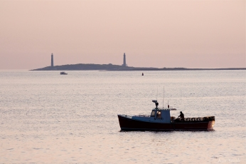 Stanley Thomas Lobster Boat Thacher Island Twin Lights copyright Kim Smith - 9