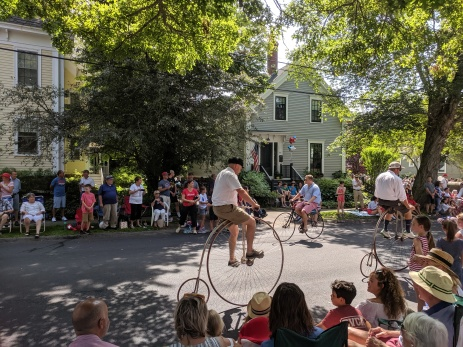vintage bikes_Manchester by the sea 4th of July parade 2019_©c ryan (1)